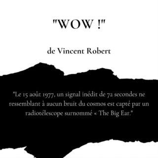 WOW !, de Vincent Robert (FR), Librinova, 2018 Synopsis : Le 15 août 1977, un signal inédit de 72 secondes ne ressemblant à aucun bruit du cosmos est capté par un radiotélescope surnommé « The Big Ear.» 41 ans plus tard, deux jeunes scientifiques, l'un basé sur l'île de Porto Rico et l'autre en Virginie occidentale, reçoivent à leur tour et à cinq reprises, un étrange message provenant des étoiles. L'Humanité a-t-elle obtenu la réponse à la question qu'elle se pose depuis la nuit des temps ? Quoi qu'il en soit… les certitudes ont la peau dure et les deux surdoués ont communiqué leurs découvertes sans passer par la voie hiérarchique. Les conséquences d'une telle divulgation ne peuvent manquer d'ébranler les fondations de notre civilisation telle que nous la connaissons. Quant aux dogmes… n'en parlons pas ici. L'éclosion d'un autre futur ? Pourquoi pas ?… Une chasse à l'homme sur fond de conspiration s'engage pour faire taire ceux qui auraient mieux fait de conserver un silence circonspect. Et si la vérité était ailleurs... Avis : 4.4/5 Personnages : 5/5 Décors : 5/5 Trame : 4/5 Emotion : 4/5 Globale : 4/5 #thriller #polar #policier #lirecestlavie #roman #lectureterminee #livre #lire #lecture #livrophage #livrestagram #livreaddict #bouquin #bouquinovore #instalivre #instabook #litterature #bookstagram #vincentrobert #wow #librinova #litteraturefrancaise #sciencefiction #astronomie