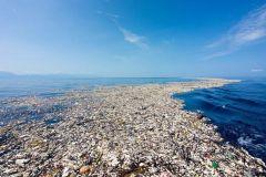 Continent de plastique dans le Pacifique nord